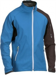 bunda Salomon Active Softshell M blue/black