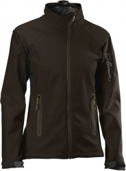 bunda Salomon Active Softshell W brown/green