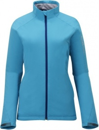 bunda Salomon Nova III Softshell W bay blue 12/13