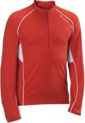 triko Salomon Trail Runner LS Zip M red