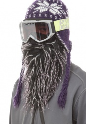 BEARDSKI Daze Black and Purple