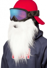 BEARDSKI Santa White