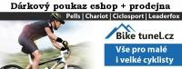 Dárkový poukaz 500 Kč pro eshop Biketunel.cz