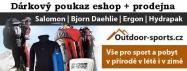 Dárkový poukaz 100 Kč pro eshop Outdoor-sports.cz