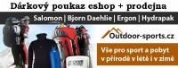 Dárkový poukaz 1000 Kč pro eshop Outdoor-sports.cz