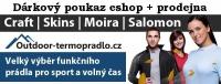 Dárkový poukaz 200 Kč pro eshop Outdoor-termopradlo.cz